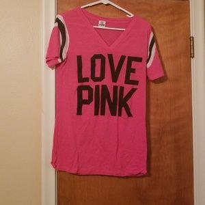 Pink tee Victoria's secret